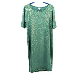 Elegant green Julia dress